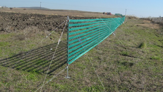 Tensioning snow fence SZ 120/150/180