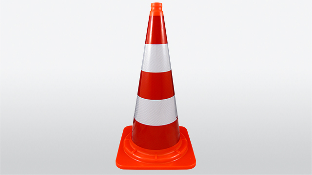 Cone 750 mm, one-piece