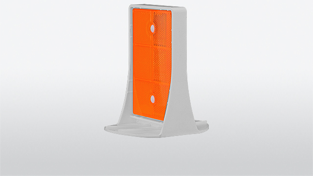 TOP-Reflector for concrete barriers