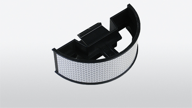 Snap-Reflector 2 for guard-rails